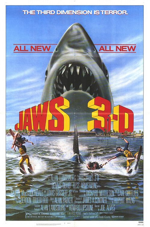 poster jaws 3d
